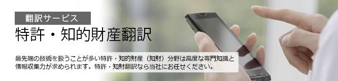 翻訳サービス  特許・知的財産翻訳